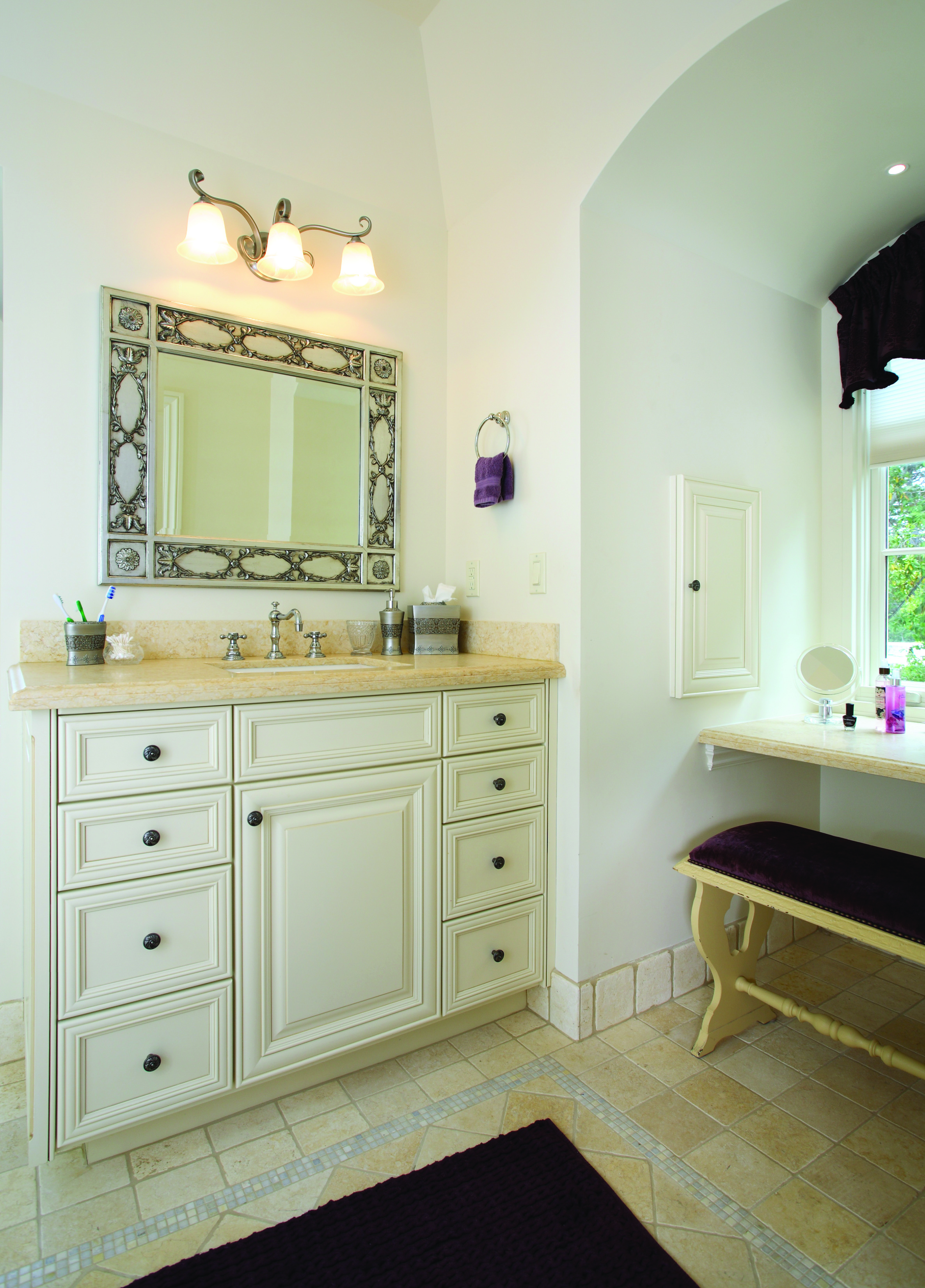 Job No. 26469 - Bathroom | Precision Cabinets