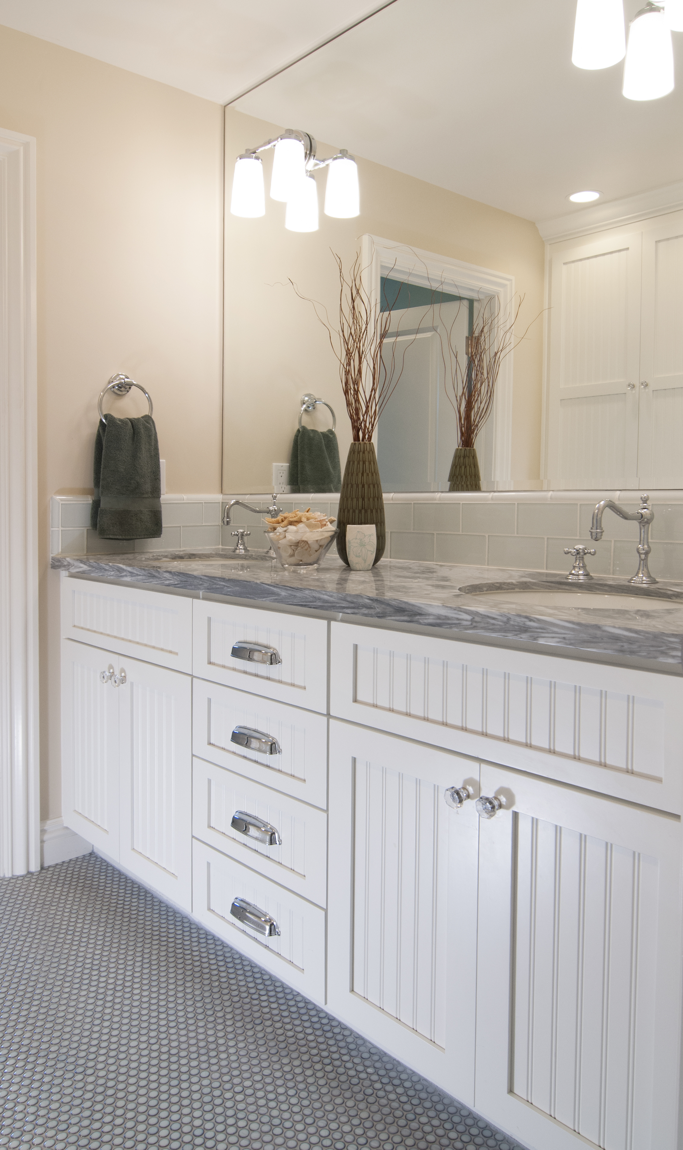 Job No. 23742 - Bathroom | Precision Cabinets