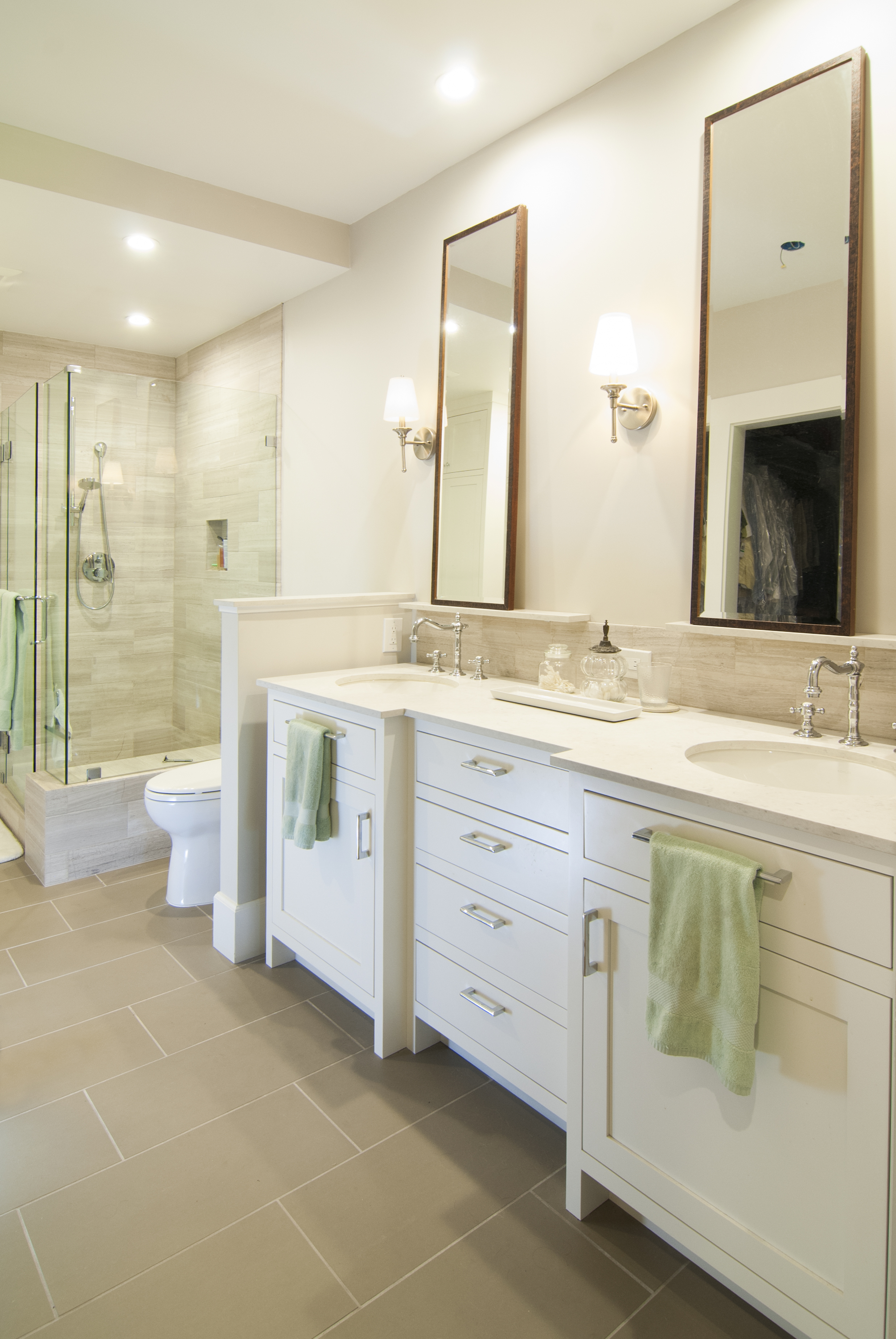 Job No. 27440 - Bathroom | Precision Cabinets