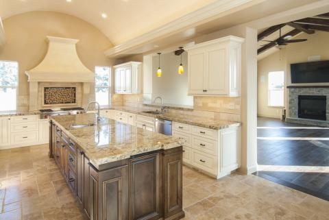 Traditional Off White Kitchen On Beautiful Traditional Off White Kitchen With Knotty Alder Island And Stainless Steel Appliances Job No 33636 Precision Cabinets